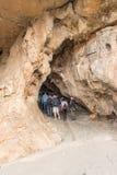 Η είσοδος στις σπηλιές Cango Στοκ φωτογραφία με δικαίωμα ελεύθερης χρήσης