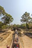Η είσοδος στο ναό BA Phuon, Angkor Thom, Siem συγκεντρώνει, Καμπότζη Στοκ Εικόνες