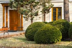 Η είσοδος στο σπίτι Στοκ Εικόνες