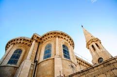 Η εβαγγελική λουθηρανική εκκλησία Χριστουγέννων Στοκ εικόνα με δικαίωμα ελεύθερης χρήσης