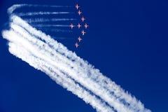 Η εβδομάδα αέρα της Αθήνας που πετά παρουσιάζει Στοκ εικόνες με δικαίωμα ελεύθερης χρήσης