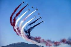 Η εβδομάδα αέρα της Αθήνας που πετά παρουσιάζει Στοκ εικόνα με δικαίωμα ελεύθερης χρήσης