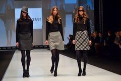 Η εβδομάδα μόδας παρουσιάζει Στοκ Εικόνα