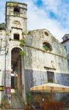 Η εγκαταλειμμένη εκκλησία Στοκ εικόνα με δικαίωμα ελεύθερης χρήσης