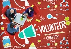 Η εθελοντική βοήθεια φιλανθρωπίας που μοιράζεται το δόσιμο δίνει τη βοηθώντας έννοια στοκ φωτογραφία με δικαίωμα ελεύθερης χρήσης
