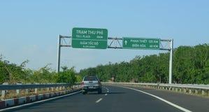 Η εθνική οδός αριθ. 1 στο Βιετνάμ Στοκ φωτογραφίες με δικαίωμα ελεύθερης χρήσης