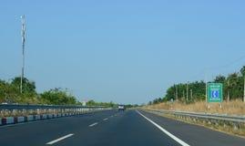 Η εθνική οδός αριθ. 1 στο Βιετνάμ Στοκ εικόνες με δικαίωμα ελεύθερης χρήσης