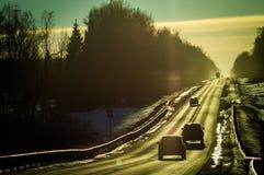 Η εθνική οδός στη Ρωσία Στοκ φωτογραφίες με δικαίωμα ελεύθερης χρήσης