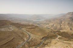 Η εθνική οδός του βασιλιά, Ιορδανία Στοκ φωτογραφία με δικαίωμα ελεύθερης χρήσης