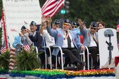 Η εθνική παρέλαση ημέρας μνήμης στοκ εικόνα
