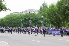 Η εθνική παρέλαση ημέρας μνήμης στοκ φωτογραφία