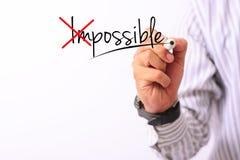 Η εικόνα επιχειρησιακής έννοιας ενός δείκτη εκμετάλλευσης χεριών και γράφει πιθανό επάνω που απομονώνεται στο λευκό στοκ φωτογραφίες