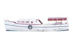 Η εικόνα μιας βάρκας μηχανών Στοκ Εικόνες