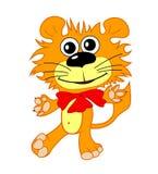 Λιοντάρι κινούμενων σχεδίων Στοκ Εικόνες