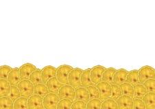 Η εικόνα της μπανάνας για τη διακόσμηση Στοκ Φωτογραφία