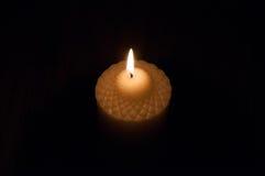 Η εικόνα του καψίματος του κεριού Στοκ Εικόνες