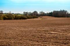Η εικόνα του καλλιεργήσιμου εδάφους Στοκ φωτογραφία με δικαίωμα ελεύθερης χρήσης