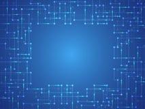 Η εικόνα υποβάθρου παρουσιάζει αφηρημένη έννοια της καινοτομίας και η τεχνολογία μπορεί να εφαρμοστεί στην επιχείρησή σας Στοκ εικόνα με δικαίωμα ελεύθερης χρήσης