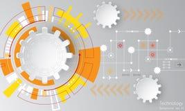 Η εικόνα υποβάθρου παρουσιάζει αφηρημένη έννοια της καινοτομίας και η τεχνολογία μπορεί να εφαρμοστεί στην επιχείρησή σας Στοκ Φωτογραφίες