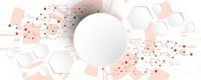 Η εικόνα υποβάθρου παρουσιάζει αφηρημένη έννοια της καινοτομίας και η τεχνολογία μπορεί να εφαρμοστεί στην επιχείρησή σας Στοκ φωτογραφία με δικαίωμα ελεύθερης χρήσης