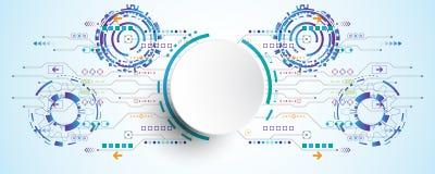 Η εικόνα υποβάθρου παρουσιάζει αφηρημένη έννοια της καινοτομίας και η τεχνολογία μπορεί να εφαρμοστεί στην επιχείρησή σας Στοκ εικόνες με δικαίωμα ελεύθερης χρήσης
