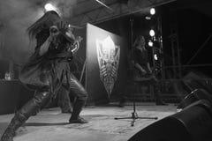 Η ειδική 15η επέτειος Arkona παρουσιάζει ζωντανό στο φεστιβάλ Insubria Στοκ Εικόνες