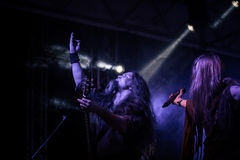 Η ειδική 15η επέτειος Arkona παρουσιάζει ζωντανό στο φεστιβάλ Insubria Στοκ Φωτογραφίες