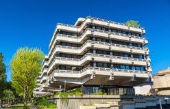 Η δεκαετία του '70-δεκαετία του '80 κτιρίων γραφείων στην περιοχή Meriadeck του Μπορντώ, Γαλλία Στοκ εικόνα με δικαίωμα ελεύθερης χρήσης