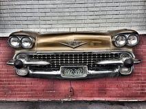 η δεκαετία του '50 Cadillac Στοκ φωτογραφία με δικαίωμα ελεύθερης χρήσης