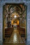 Η εκκλησία Αγίου George στο Σαλέρνο, Campania, Ιταλία Στοκ φωτογραφία με δικαίωμα ελεύθερης χρήσης
