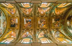 Η εκκλησία Αγίου George στο Σαλέρνο, Campania, Ιταλία Στοκ εικόνα με δικαίωμα ελεύθερης χρήσης