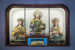 Η εκκλησία Αγίου George στο Σαλέρνο, Campania, Ιταλία Στοκ φωτογραφίες με δικαίωμα ελεύθερης χρήσης