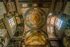 Η εκκλησία Αγίου George στο Σαλέρνο, Campania, Ιταλία Στοκ Εικόνες