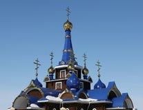 η εκκλησία διασχίζει το&up Ναός Στοκ Φωτογραφίες