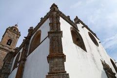 Η εκκλησία κοινοτήτων του Λα της Σάντα Μαρία δήμαρχος La Coronada βρίσκεται στο τετράγωνο του ίδιου ονόματος, στην πόλη Medina Si στοκ εικόνα