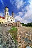 Η εκκλησία Μαρία Radna, προς τιμή την ευλογημένη Virgin Mary, Radna, Arad Στοκ φωτογραφίες με δικαίωμα ελεύθερης χρήσης