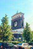 Η εκκλησία της ιερής καρδιάς του Λόρδου στην Πράγα, Τσεχία στοκ εικόνα με δικαίωμα ελεύθερης χρήσης