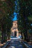 Η εκκλησία του ST Anselm στο all'Aventino Aventine Sant'Anselmo στη Ρώμη στοκ εικόνες με δικαίωμα ελεύθερης χρήσης