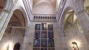 Η εκκλησία του ST Anton Μπιλμπάο Ισπανία φιλμ μικρού μήκους