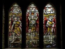Η εκκλησία του ST Conan, εκκλησία της Σκωτίας, βρίσκεται στην κοινότητα του δέου λιμνών, Argyll και Bute, Σκωτία Λεκιασμένα glas στοκ φωτογραφία με δικαίωμα ελεύθερης χρήσης