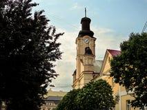 Η εκκλησία του ST George σε Uzhgorod Στοκ φωτογραφία με δικαίωμα ελεύθερης χρήσης