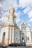Η εκκλησία του ST Martin ο ομολογητής, οδός του Αλεξάνδρου Solzhenitsyn, 15 Στοκ φωτογραφία με δικαίωμα ελεύθερης χρήσης
