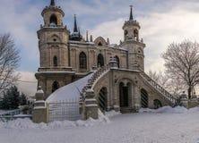 Η εκκλησία το εικονίδιο του Βλαντιμίρ της μητέρας του Θεού, σε Bykovo, Ρ Στοκ εικόνες με δικαίωμα ελεύθερης χρήσης