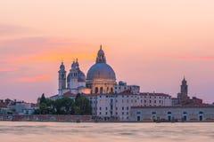 Η εκκλησία χαιρετισμού della της Σάντα Μαρία, Βενετία Στοκ Εικόνες