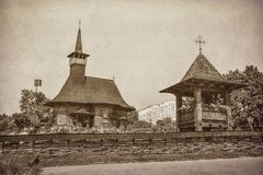 Η εκκλησία χτίζεται στα έτη 1952 Στοκ Εικόνες