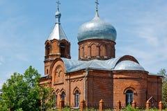 Η εκκλησία Στοκ εικόνα με δικαίωμα ελεύθερης χρήσης