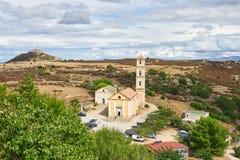 Η εκκλησία Annunciation σε Sant Antonino, Κορσική Στοκ Εικόνες