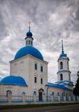 Η εκκλησία Annunciation της ευλογημένης Virgin Mary, Zaraysk, περιοχή της Μόσχας, της Ρωσίας Στοκ φωτογραφία με δικαίωμα ελεύθερης χρήσης