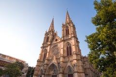 Η εκκλησία Guangzhou shengxin είναι το ορόσημο του guangzhou Κίνα, κάθε μέρα πολλοί λαοί έρχονται εδώ Στοκ εικόνα με δικαίωμα ελεύθερης χρήσης