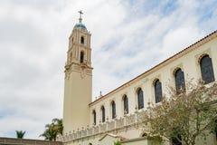 Η εκκλησία Immaculata του πανεπιστημίου του Σαν Ντιέγκο Στοκ Φωτογραφία